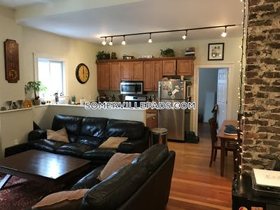 Somerville Apartment for rent 3 Bedrooms 1 Bath  Winter Hill - $2,745