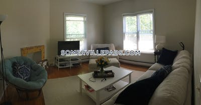 Somerville Apartment for rent 4 Bedrooms 1.5 Baths  Winter Hill - $3,300